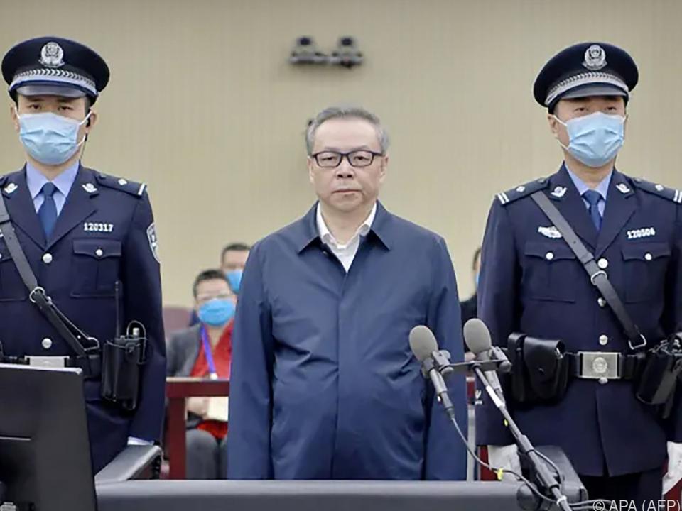 Lai Xiaomin soll Bestechungsgelder in Milliardenhöhe erhalten haben