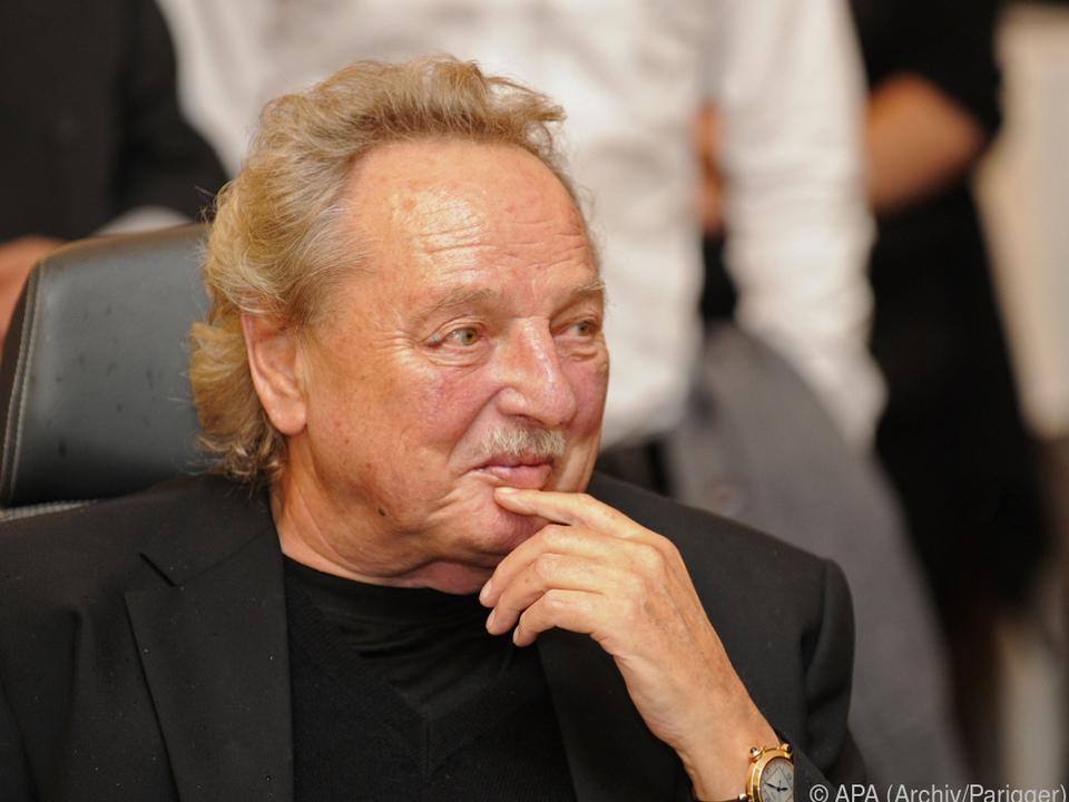 Gernot Langes-Swarovski auf einem Archivbild aus dem Jahre 2012