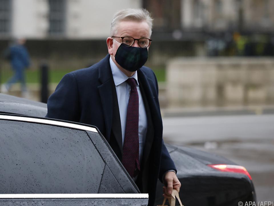 Großbritanniens Staatsminister Michael Gove