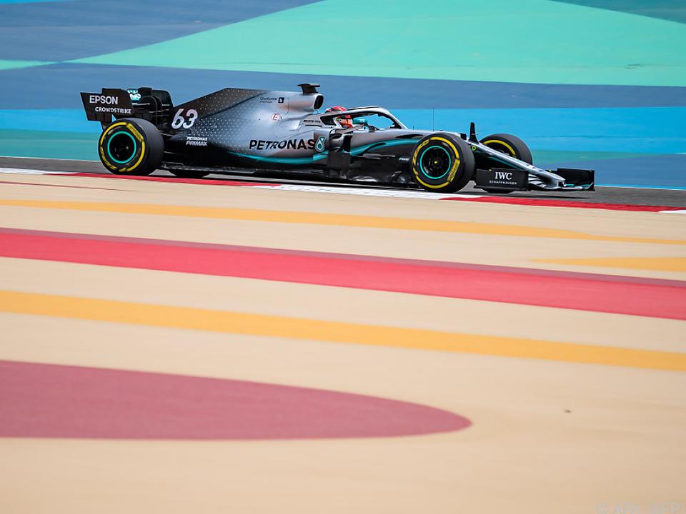 Formel-1-WM-Auftakt am 28. März in Bahrain