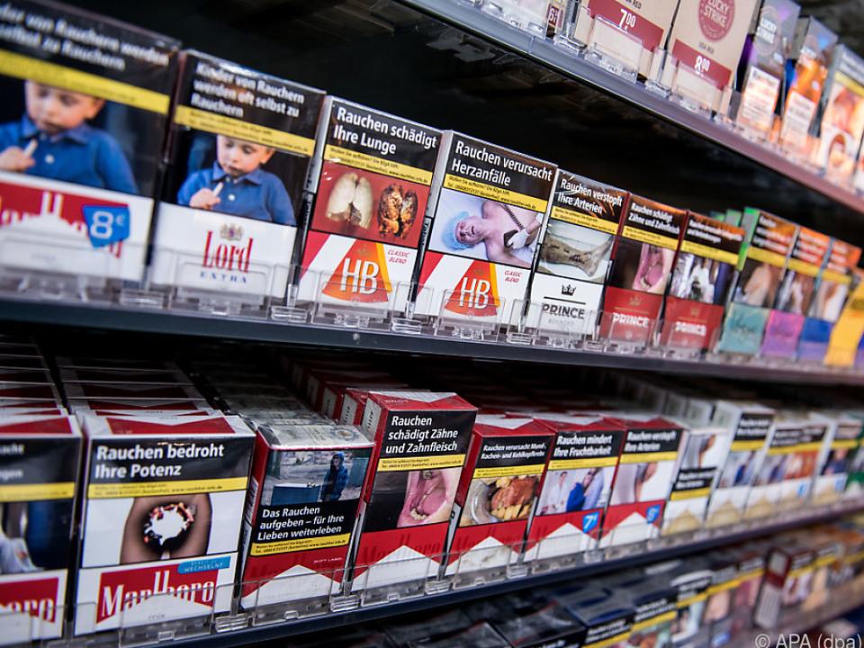 Österreicher kauften wegen Reisebeschränkungen mehr Zigaretten im Land