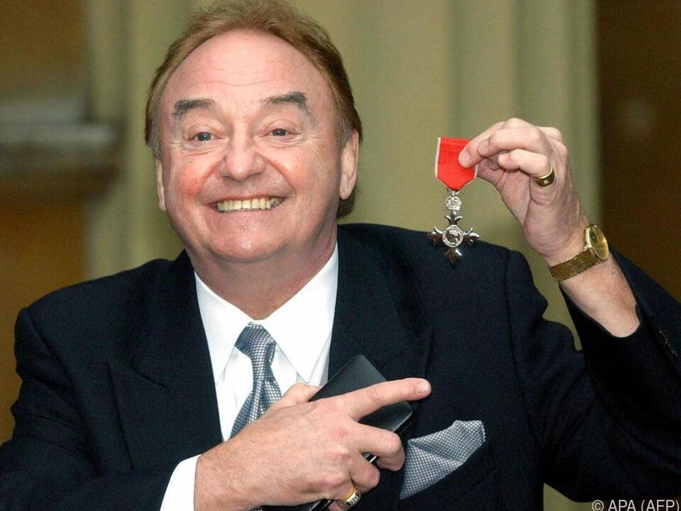 Gerry Marsden bei einer Ehrung im Jahr 2003