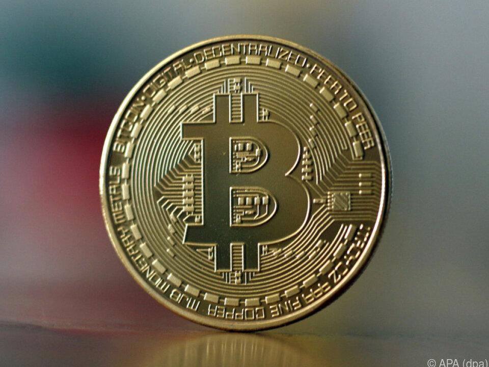 Digitalwährung Bitcoin setzt Höhenflug fort