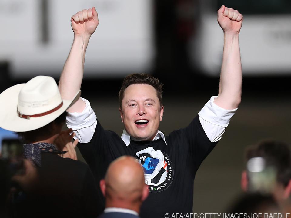 Elon Musk dank Tesla-Kursrally reichster Mann der Welt