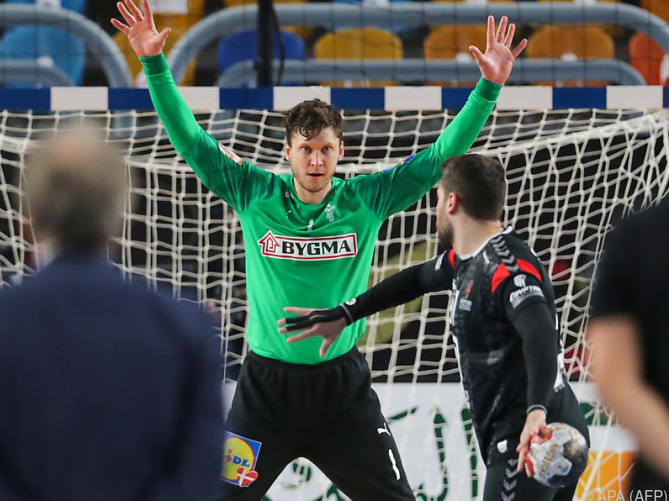 Im Finales des Krimis wurde Dänen-Goalie Niklas Landin zum Held