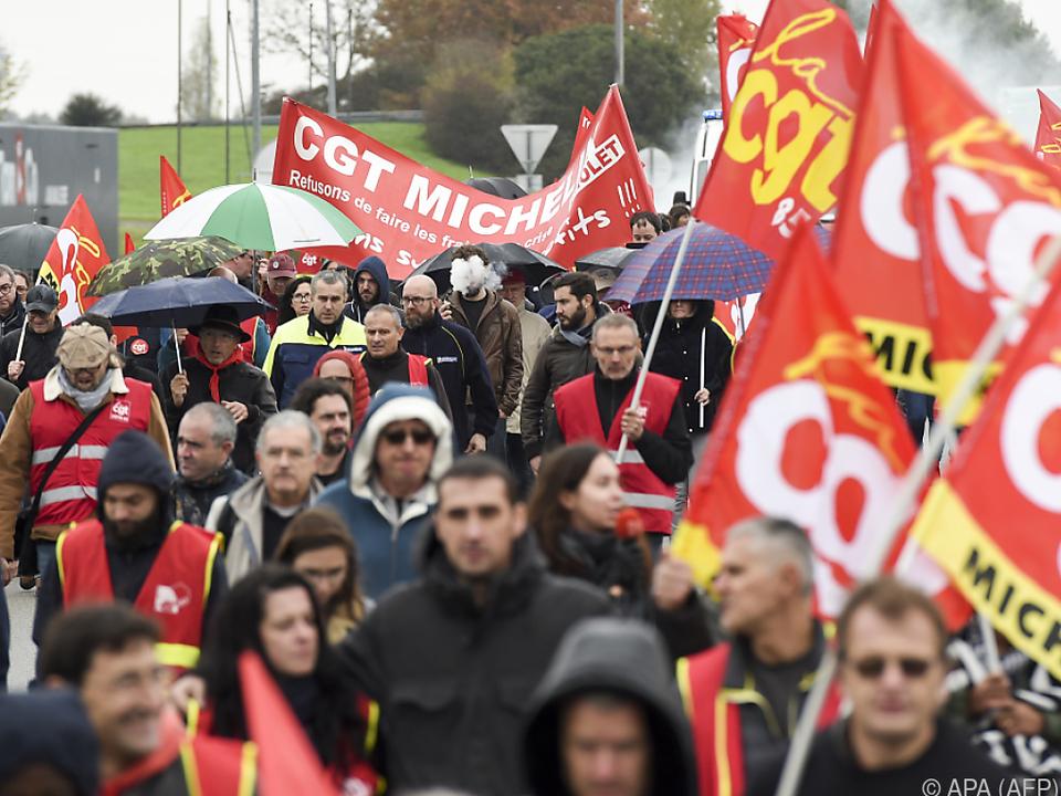 Belegschaft protestierte im Herbst 2019 gegen Werksschließungen