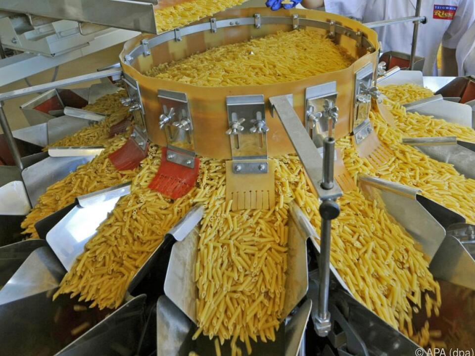 Italienische Teigwaren werden hierzulande gerne gegessen