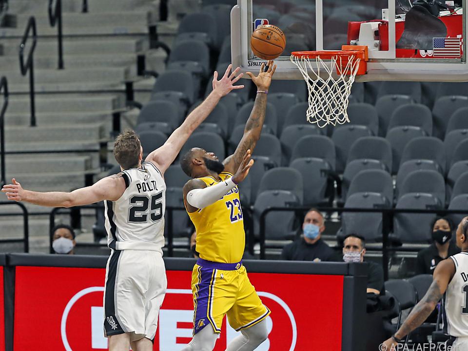 Pöltl verliert auch zweites Spiel gegen die Lakers