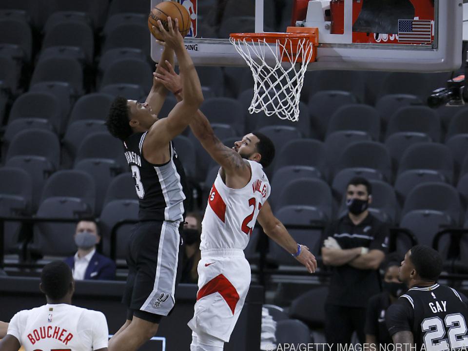 Trotz Korb letztlich Niederlage für die San Antonio Spurs