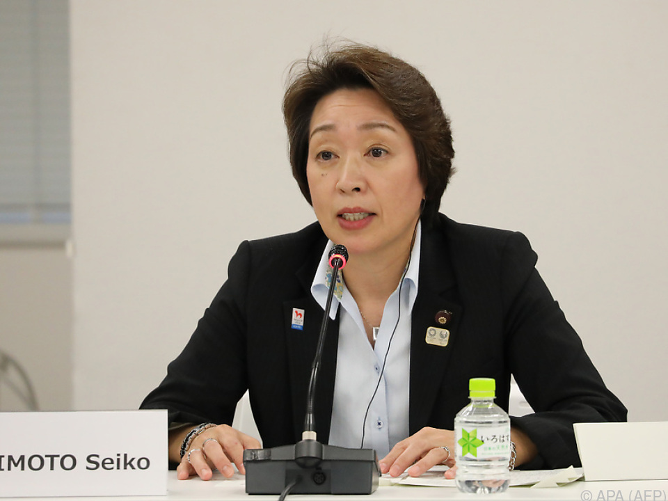 Japans Olympia-Ministerin Seiko Hashimoto (Archivbild)