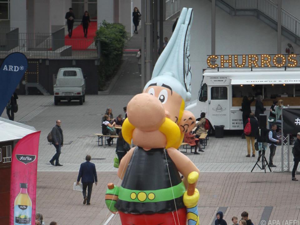 Der beliebte Comic-Held Asterix
