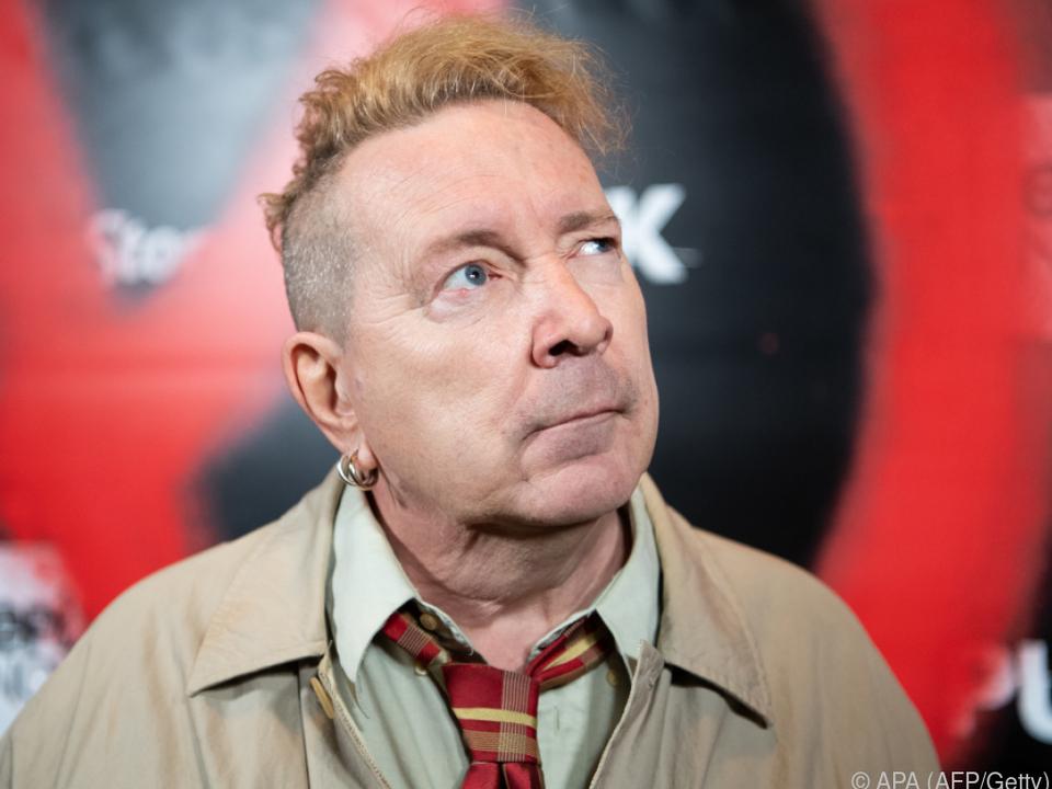 Johnny Rotten fühlt sich übergangen