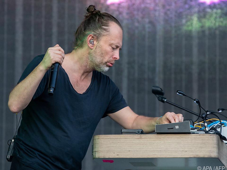 Kassette ist mit handschriftlichen Notizen von Thom Yorke versehen