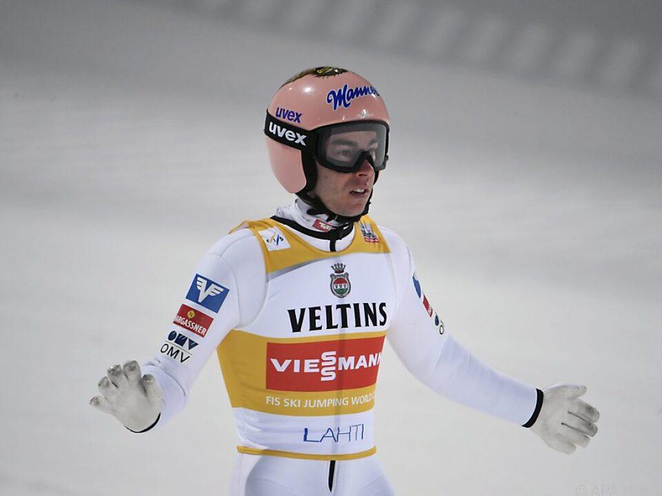 Kraft kehrte in Lahti mit guten Sprüngen zurück