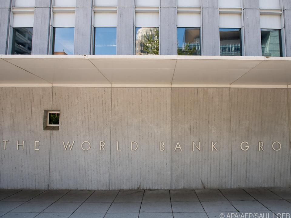 Der Weltbank-Sitz in Washington