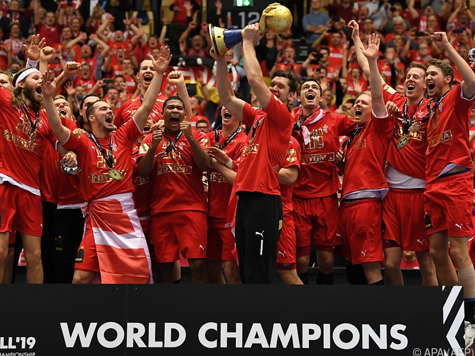 So jubelte 2019 Weltmeister Dänemark