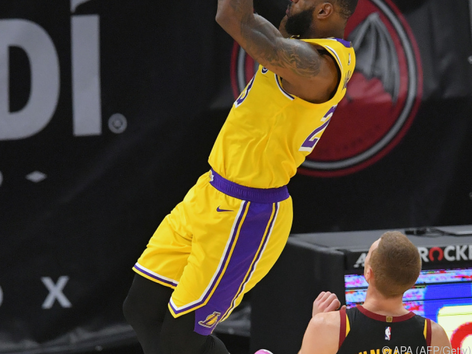 LeBron James erzielt 46 Punkte gegen seinen Ex-Club