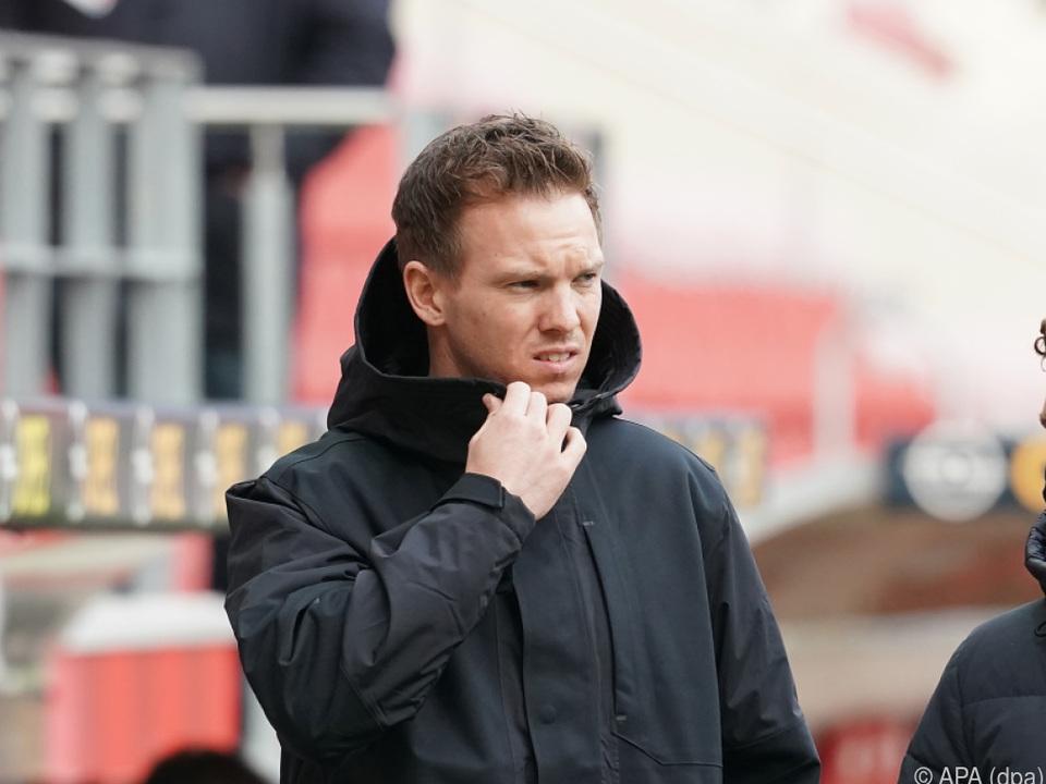 Leipzig-Trainer Nagelsann hifft auf Sieg über Leverkusen