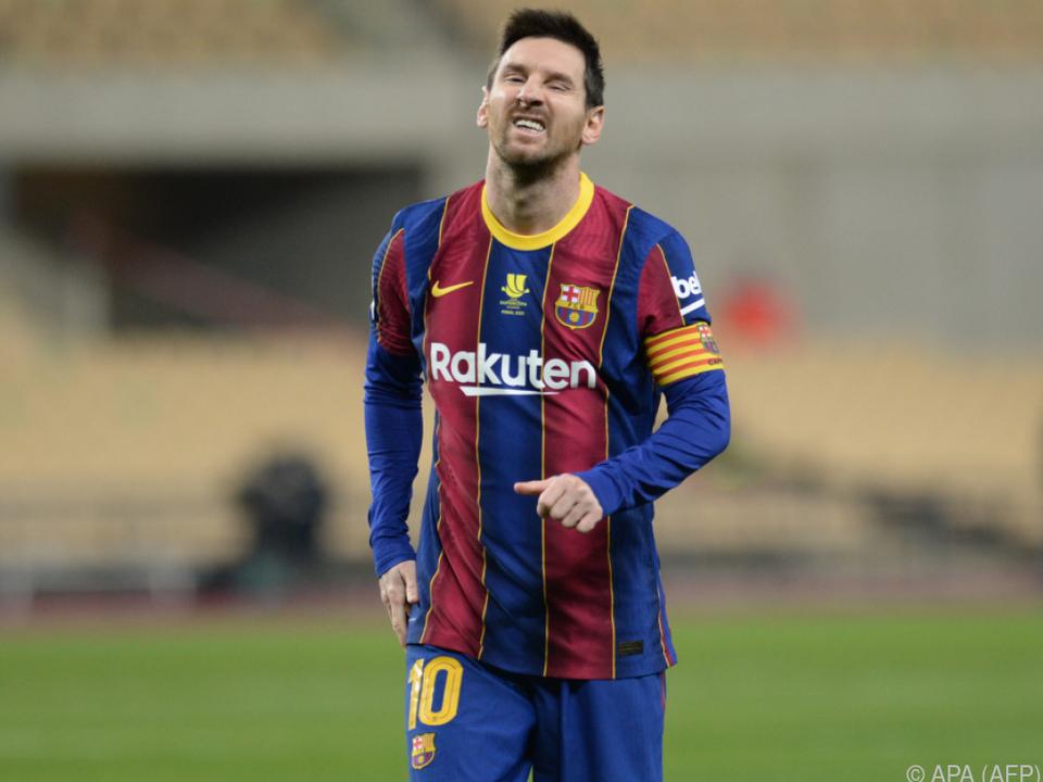 Lionel Messi steht auf der Gehaltsliste des FC Barcelona ganz oben