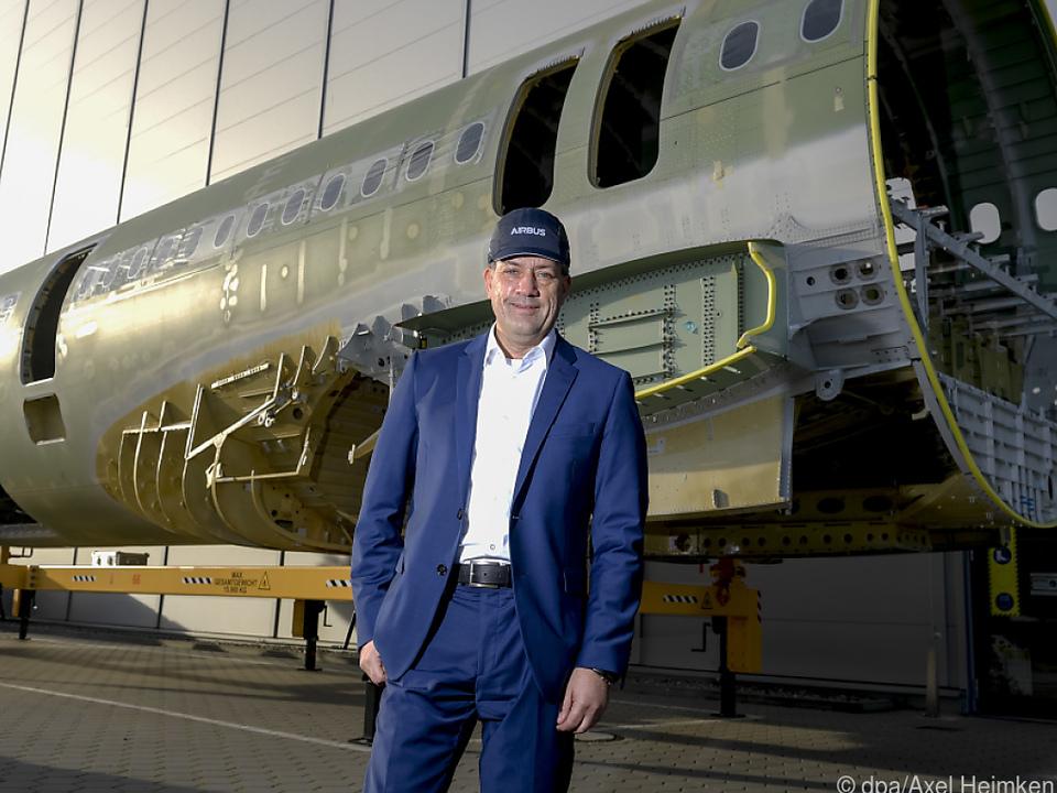 Hamburgs Airbus-Chef Andre Walter