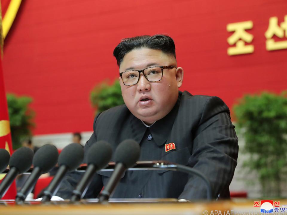 Machthaber Kim bezeichnete die USA als \