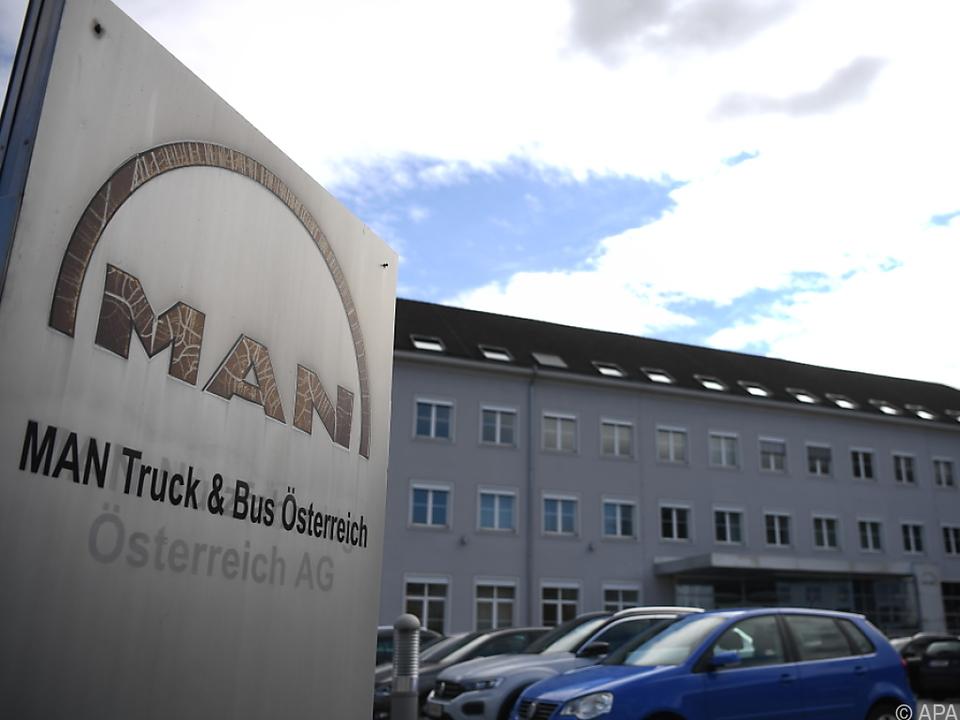 MAN-Werk in Steyr