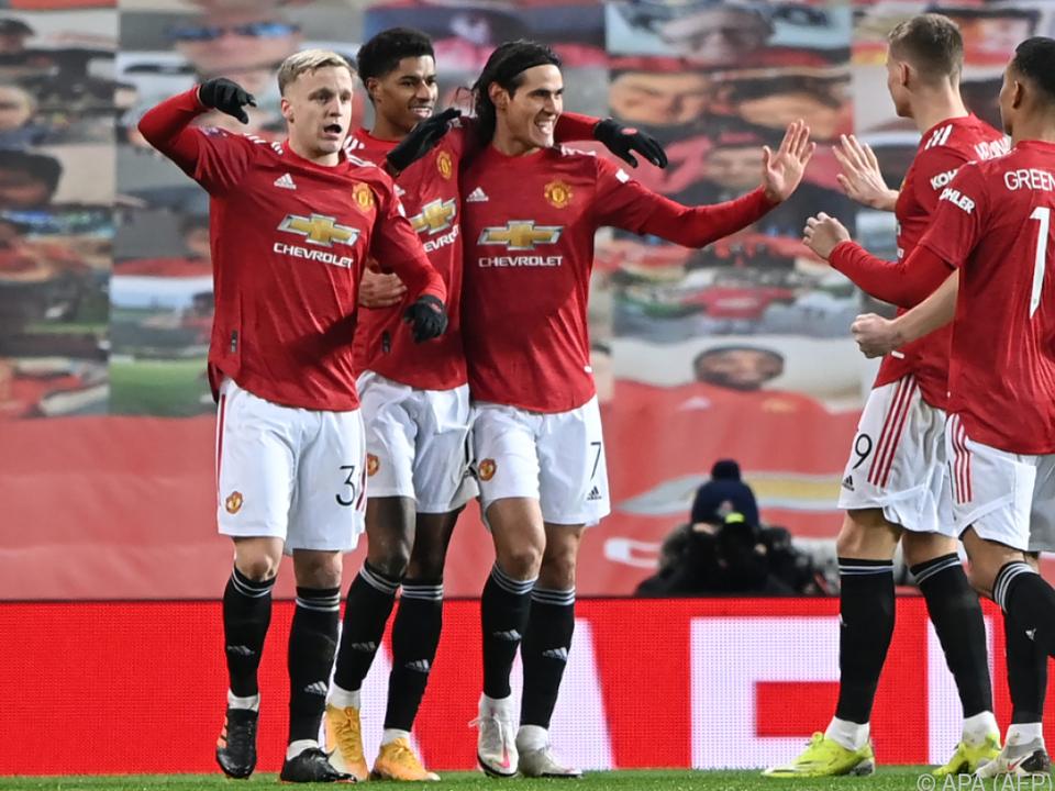 Manchester United bejubelt FA-Cup-Sieg über Liverpool