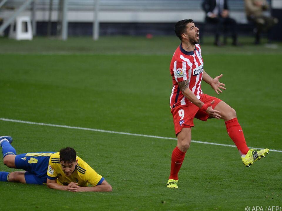 Matchwinner war einmal mehr Liga-Topscorer Luis Suarez
