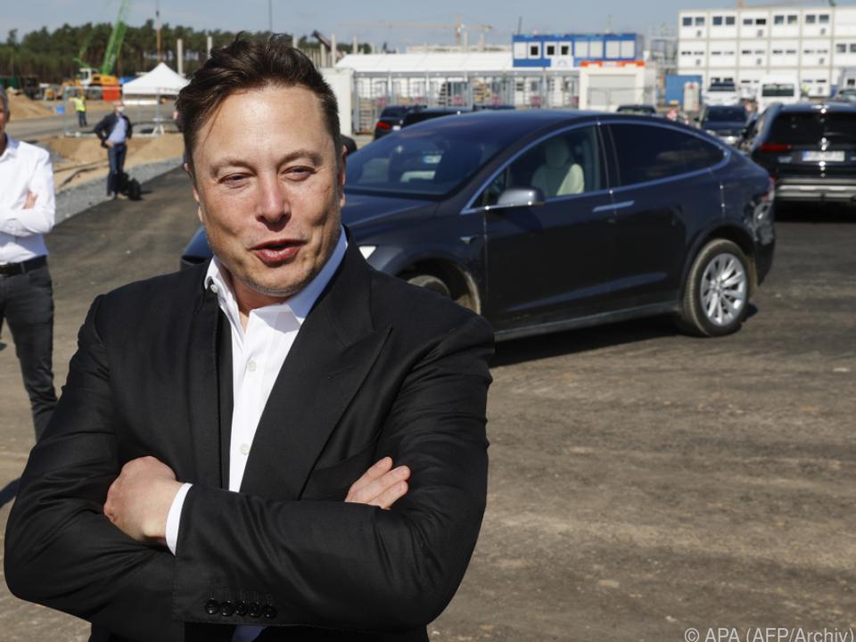 Elon Musk ist mit dem Tesla-Jahresabsatz zufrieden