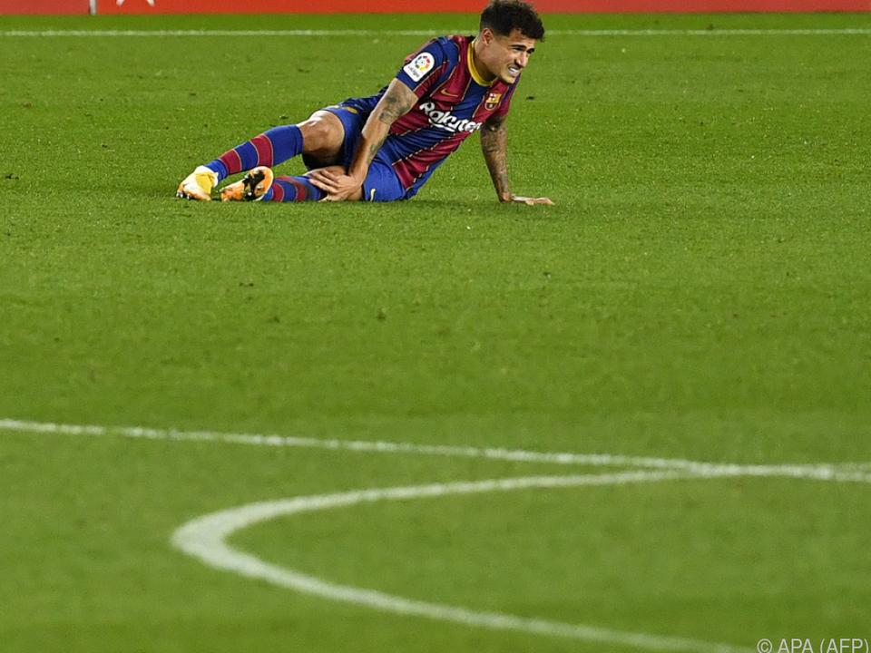 Mehrere Monate Pause für Coutinho