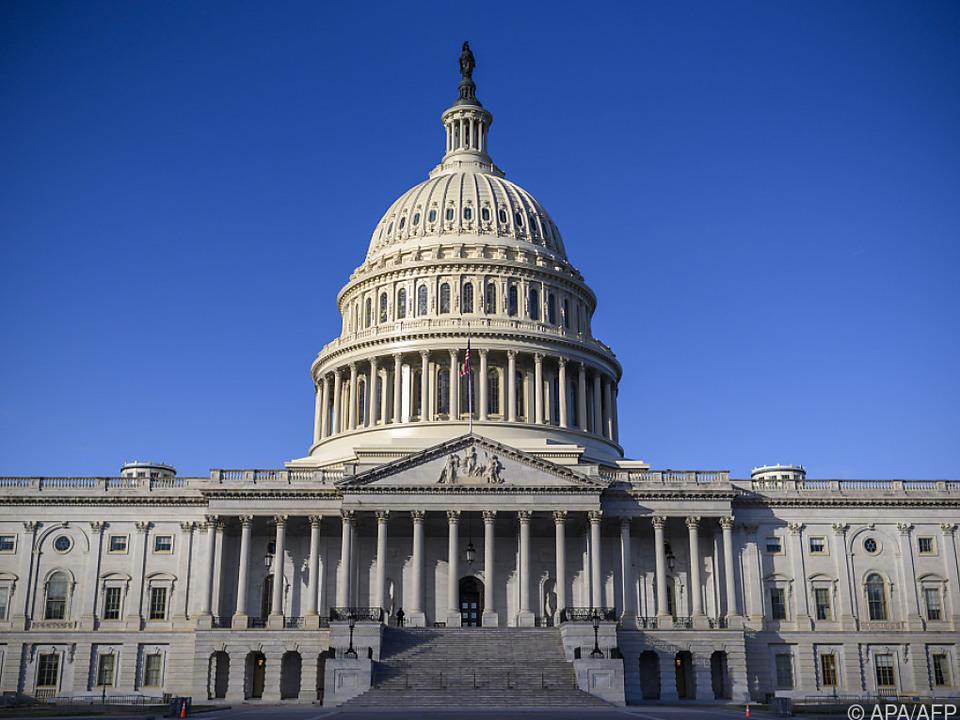 Im US-Capitol wird die neue Legislaturperiode eröffnet