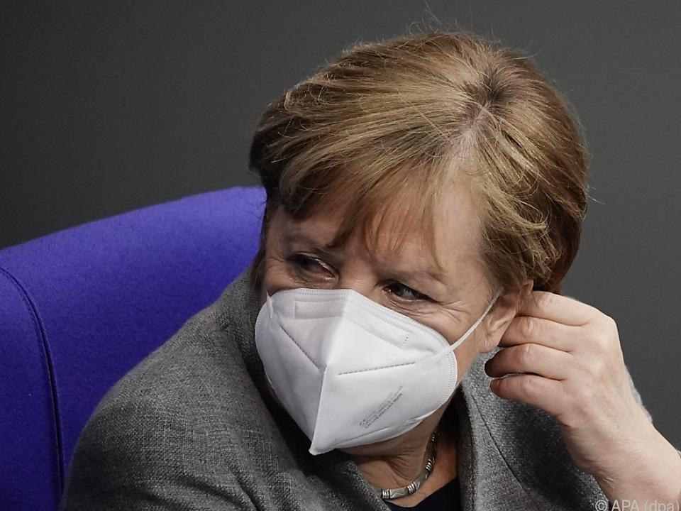 Merkel sorgt sich um Virus-Mutationen