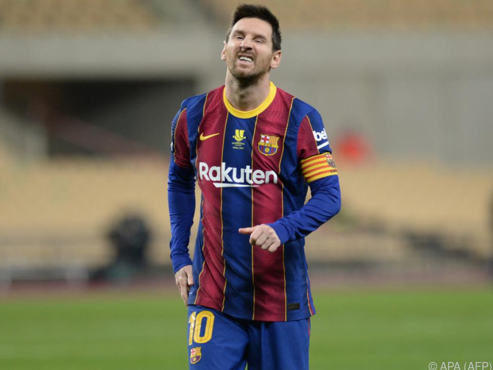 Messi fehlt Barcelona in den kommenden zwei Spielen