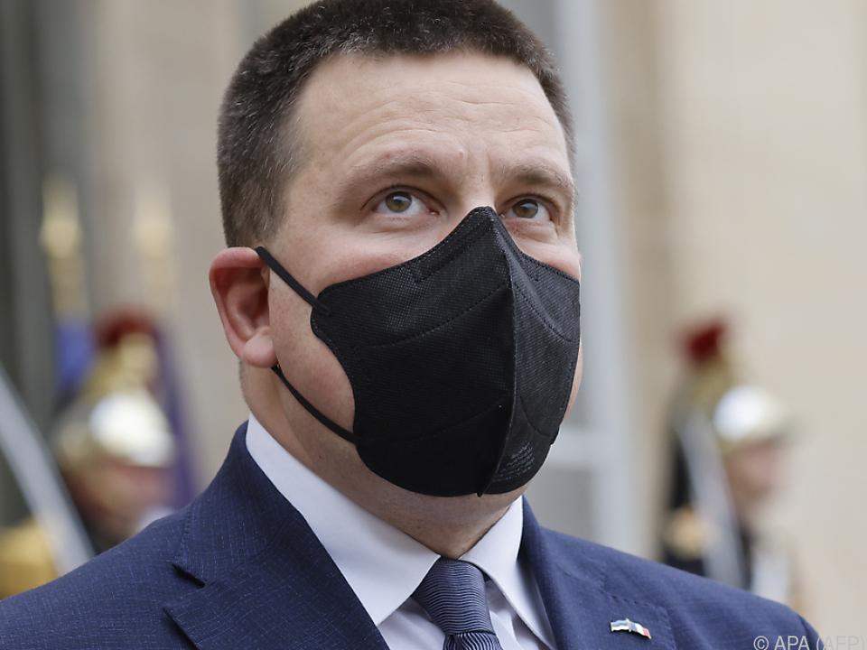 Ratas kam wegen Korruptionsvorwürfen unter Druck