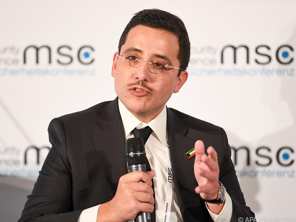Kuwaits Außenminister vermittelte