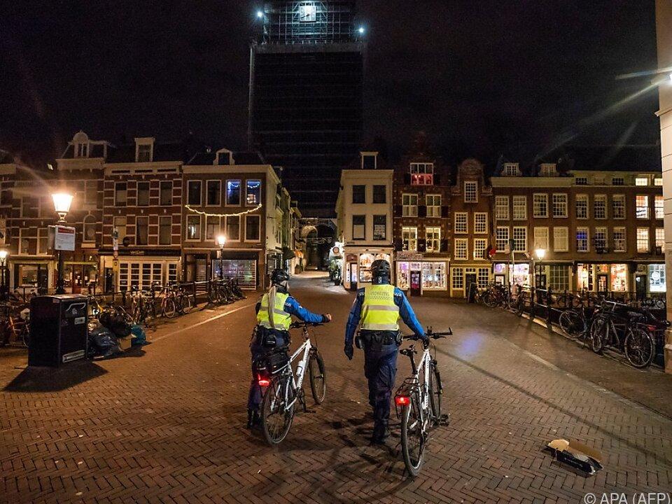 Nächtliche Ausgangssperre in den Niederlanden