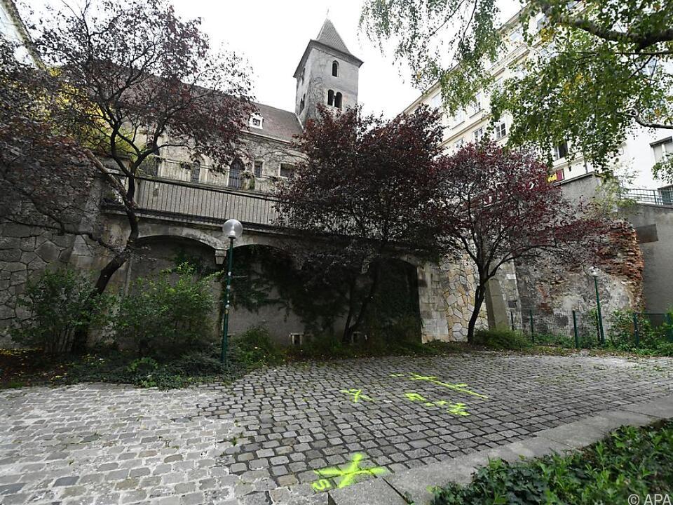 Der Tatort in der Wiener Innenstadt