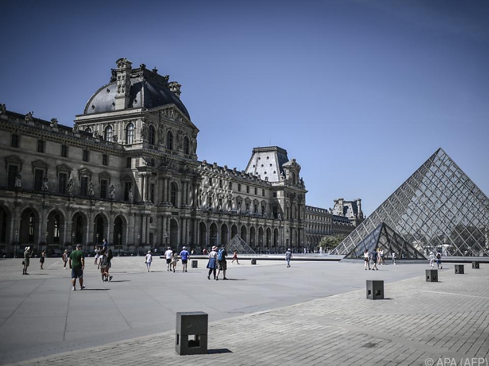 Nur wenige Besucher zog es 2020 in den Pariser Louvre