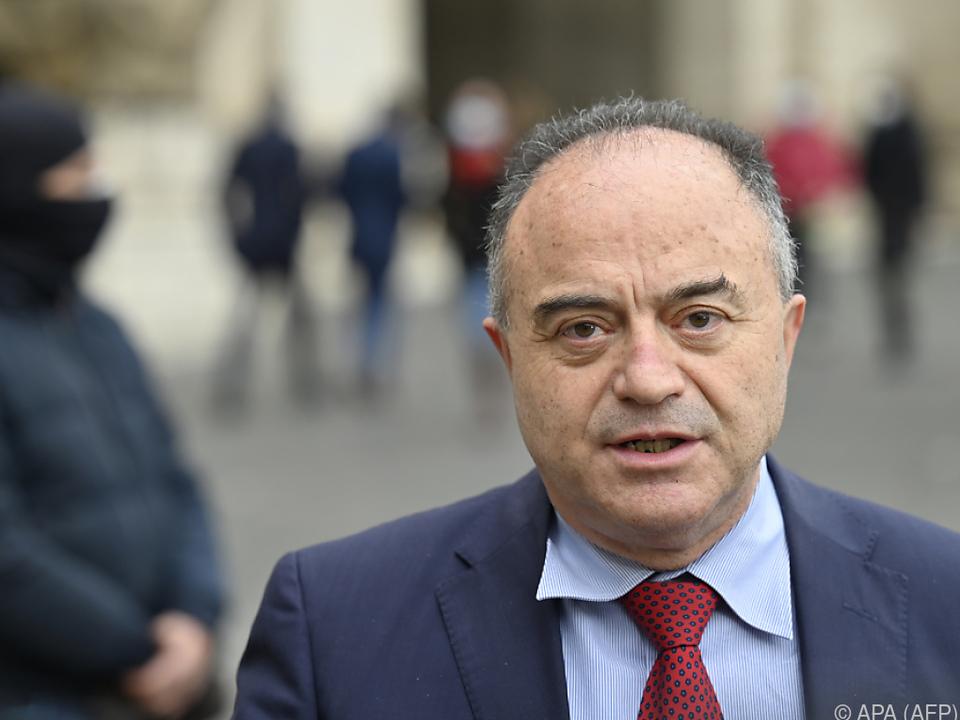 Oberstaatsanwalt Nicola Gratteri im Mega-Mafia-Prozess