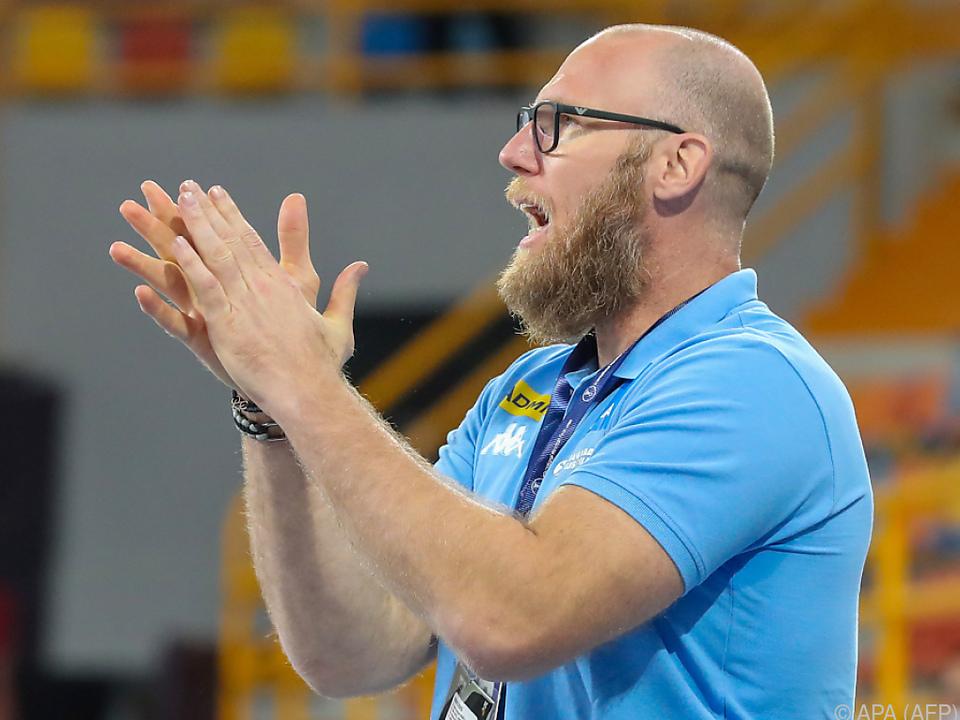 ÖHB-Teamchef Pajovic musste beim Sieg über Chile leiden