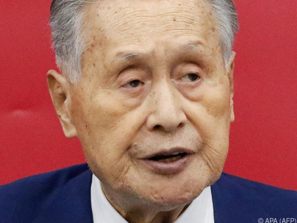 Yoshiro Mori hinsichtlich der Olympia-Ausrichtung zuversichtlich