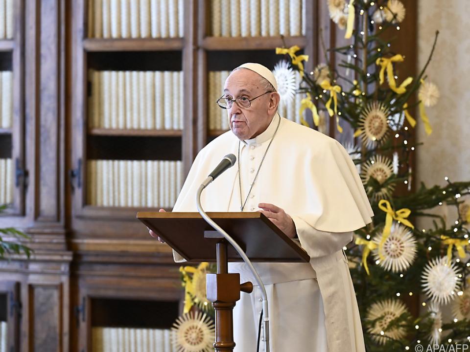 Papst Franziskus wurde geimpft