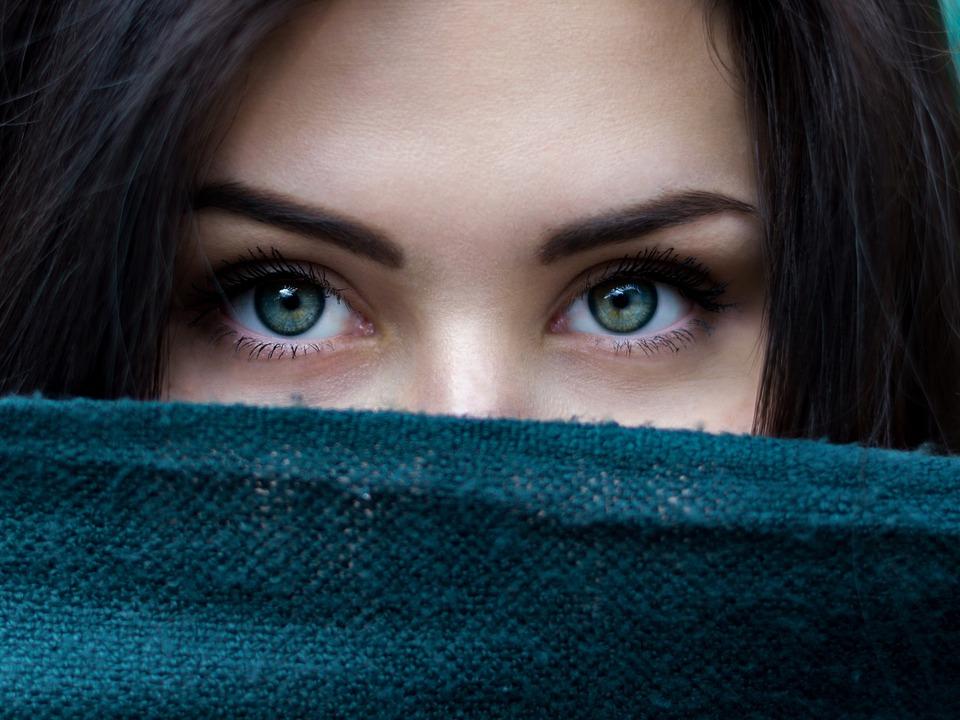 Augen Frau