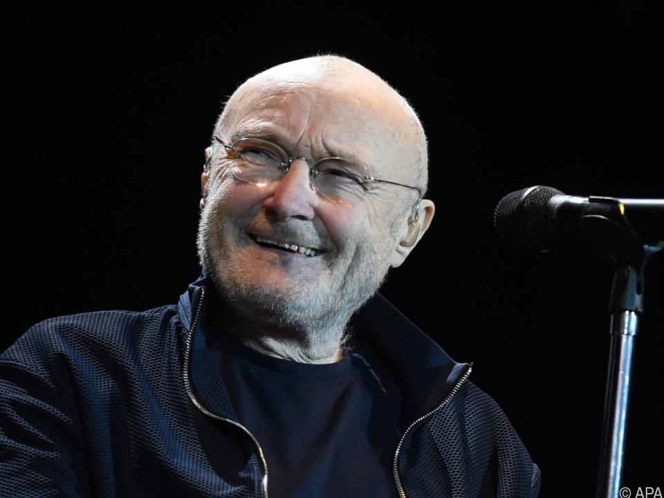 Phil Collins während seines Wien-Konzerts im Jahr 2019