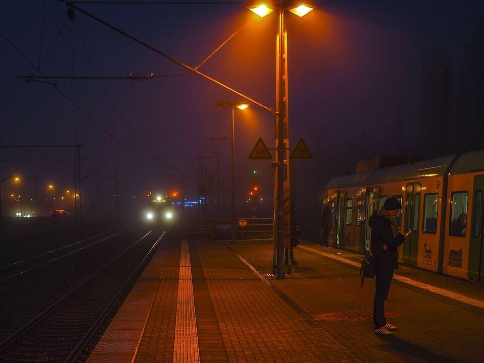 Zug Nebel
