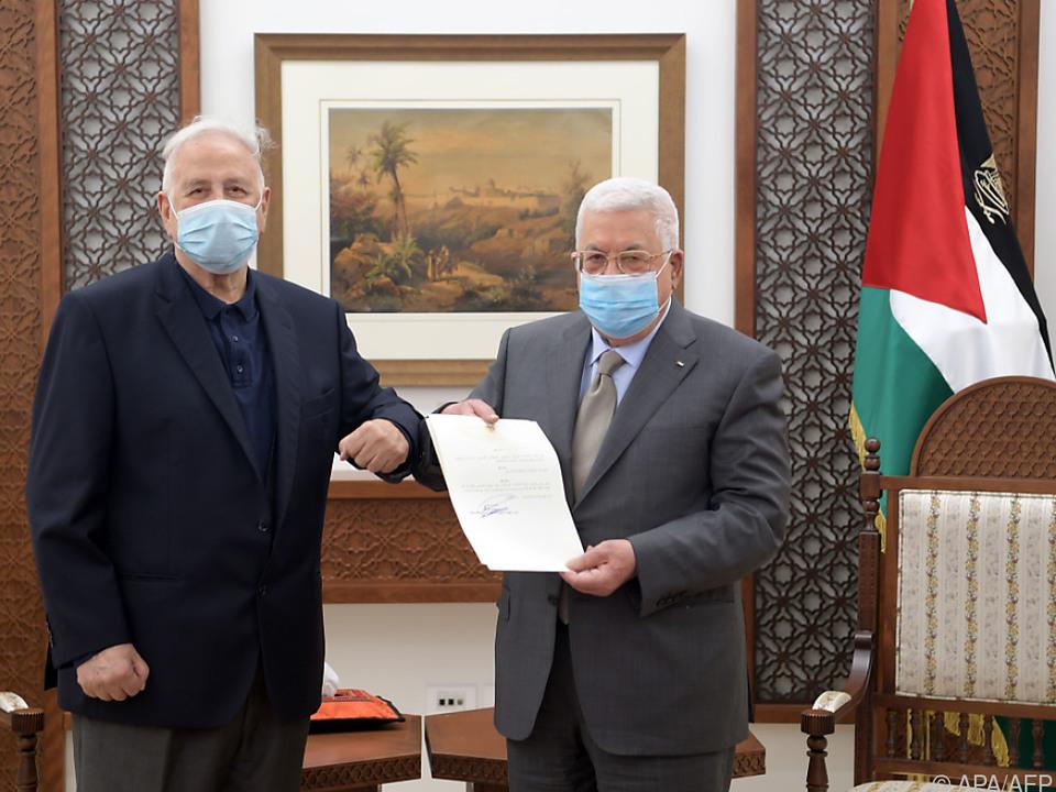 Präsident Abbas unterzeichnete das Dekret