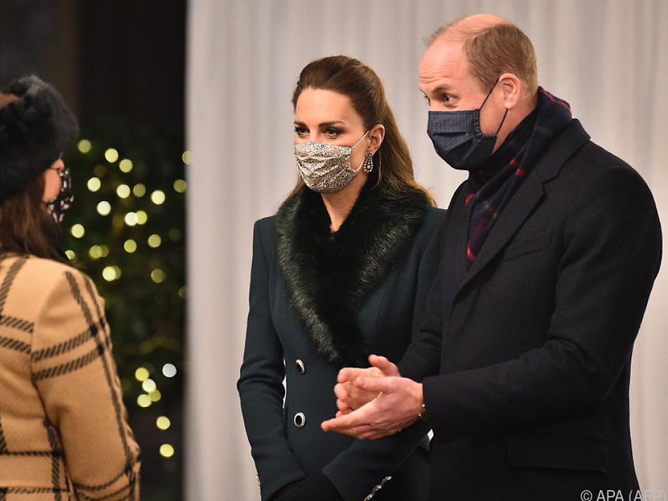 Prinz William und Kate unterstützen die Telefonseelsorge