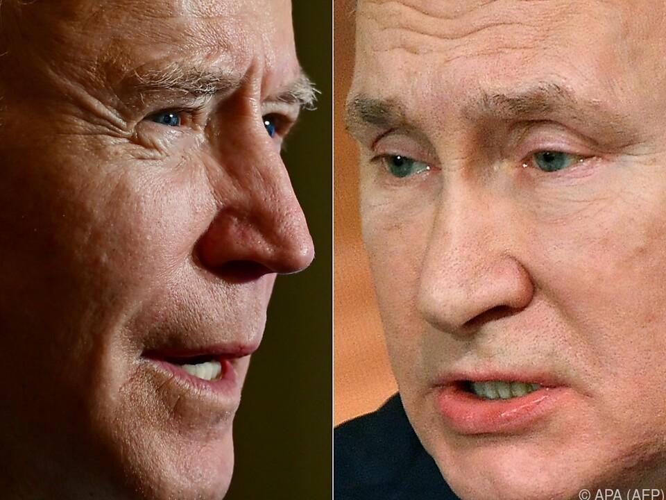 Putin und Biden einig zu New Start