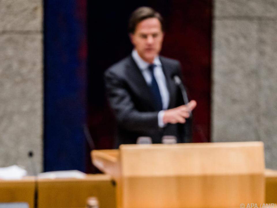 Regierung von Premier Rutte zurückgetreten