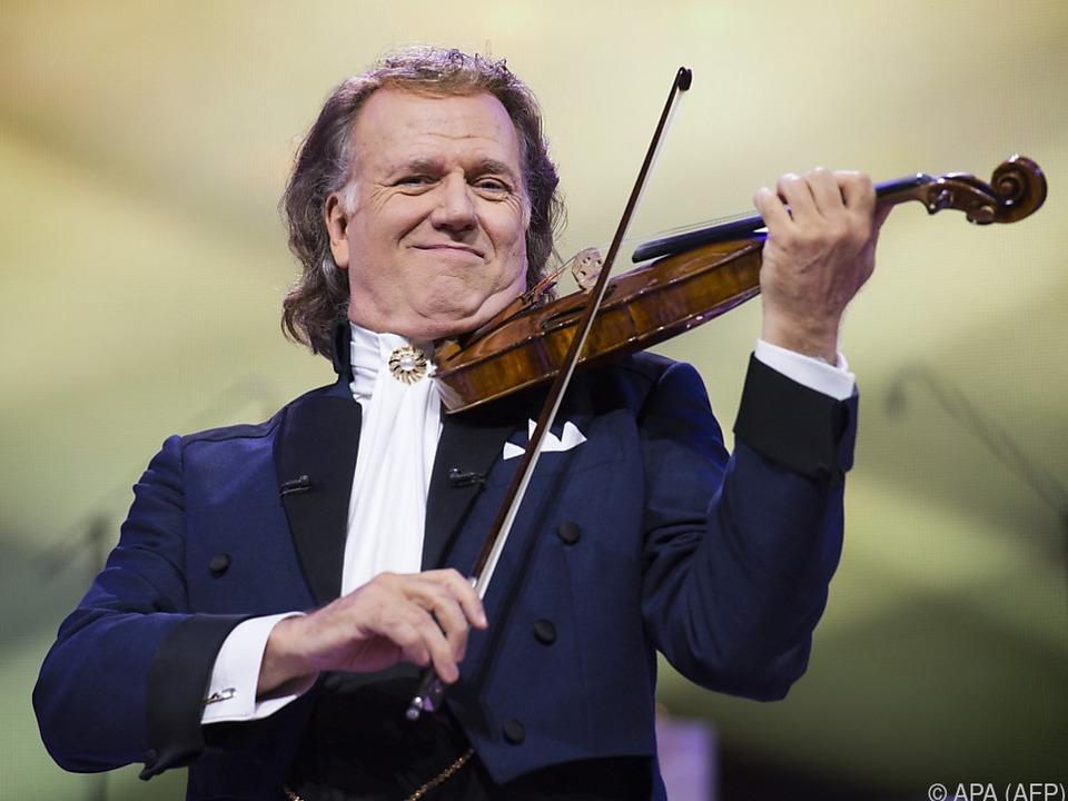 Rieu würde sich sogar von seiner Stradivari trennen